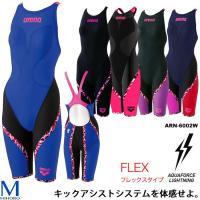 ■レディスハーフスパッツフラットクロスバック競泳水着  ■カラー BKPK:ブラック×ピンク  ■素...