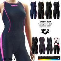 レディース 競泳練習用水着 女性 arena アリーナ SAR-8135W