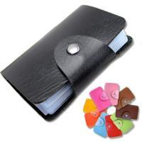カードケース レディース メンズ 人気 ブランド レザー 革 大容量 ポイントカード入れ クレジットカード入れ 名刺入れ カードホルダー 24枚 カード収納