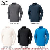 32MA6640:ミズノ ブレスサーモ ハーフジップシャツ  ■素材 ポリエステル79%・レーヨン1...