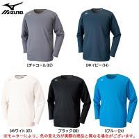 32MA6643:ミズノ ブレスサーモ Uネックシャツ  ■素材 ポリエステル79%・レーヨン16%...