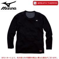 73CM311:ミズノ ブレスサーモ ミドルウエイトシャツ  ■素材 ポリエステル90%・指定外繊維...