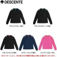DSS-5330W:デサント 長袖セカンダリーシャツ  ■素材 本体:ポリエステル100% 袖下部:...