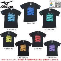 J2MA5Y61:ミズノ 大阪マラソン2015 限定デザイン 半袖Tシャツ  ■素材 ポリエステル1...