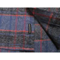 クイックシルバー ネルシャツ QUIKSILVER RIVER BACK quiksilver杢チェックシャツ ショートポイントシャツ
