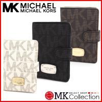 新品 マイケルコース MICHAEL KORS 財布 パスポートケース 二つ折り カードケース 人気...