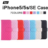 iPhone SE iPhone5s iPhone5対応 手帳型 横開き 耐衝撃 レザーケース   ...