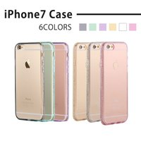iPhone7対応 ケース  商品詳細 材質    : TPU ラインストーン 対応機種  : iP...