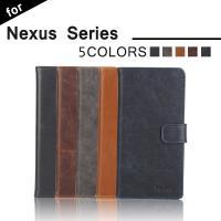 送料無料 Nexus6P Nexus5X対応 手帳型 横開き 耐衝撃 レザーケース 耐衝撃 カードホ...