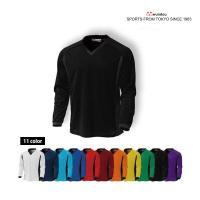 ジュニアサッカーシャツの長袖バージョンです。もちろん、吸汗速乾・動きやすさはサッカーシャツP-191...