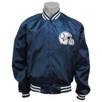 NFLインディアナポリス・コルツのオーセンティック・サテンジャケット。  現在は入手が難しく、希少価...