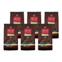 【有機JAS認証農園産コーヒー豆100%】 吟煎 400g  6パックセット( レギュラーコーヒー粉 )|mmc-coffee