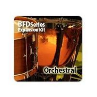 コンサート用のパーカッションを集めた、BFD3、BFD EcoまたはBFD2用の拡張音源