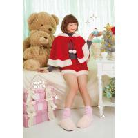 クリスマス コスプレ レディース サンタ 衣装 安い サンタクロース コスチューム ケープ Sweet Soft ポンポンケープサンタ