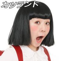 ウィッグ カツラ コスプレ 衣装 レディース メンズ 男性 女性 カツランド おかっぱちゃん   4...