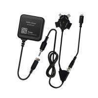 「AC充電器+ストレートコードコネクタ」OセットiPhone7対応、ほぼ全てのモバイルに充電可能!!...