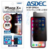 iPhoneX アイフォン フィルム 液晶 Apple シート 保護 覗き見防止フィルム 360°の...