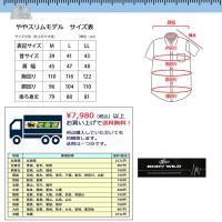 半袖ワイシャツ ボタンダウン ボディワイルドBW03 M L LL Yシャツ形態安定