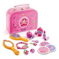 3歳4歳5歳女の子の誕生日プレゼントに人気の おしゃれ遊び、ままごとメイクセットのマイヴァニティケー...