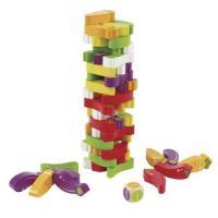 スタッキングベジーゲーム、3歳4歳5歳の男の子女の子のお誕生日プレゼントにオススメの子供向けのジェン...