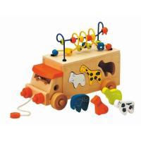 出産祝いに人気の赤ちゃんおもちゃの エドインターのアニマルビーズバス。  1歳2歳3歳の男の子女の子...