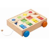 デザインつみきは、出産祝いや1歳2歳男の子女の子のお誕生日プレゼントに人気オススメのエドインターの音...