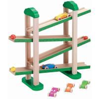 森のうんどう会 車 スロープ 木のおもちゃ 出産祝い 1歳 2歳 3歳 男 女 誕生日プレゼント