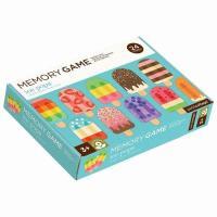 12種類のアイスクリームのメモリーゲーム、 記憶力の絵合わせあそびのおもちゃ。 petitcolla...
