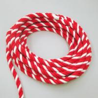 お祭りやイベントやお神輿の牽引にも使える直径2cmの太さの太い紅白ロープです。 メートル単位での切り...