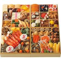 食材の旨味が際立つ、絢爛な京の四段重  ●お重サイズ=約21x21x5(四段22.7)cm  ●重箱...