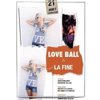 ゴージャスでCuteなデザイン La Fine のTシャツ Love Ball【LAブランド正規直輸入】