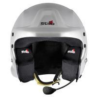 STILO TROPHY DES PLUS Composite (スティーロ トロフィー DES プラス) オープンフェイス ヘルメット インターコム装備 FIA 8859-2015 SNELL SA2015|monocolle|03