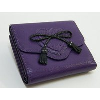 Paul Smithポールスミス牛革レザー折りたたみ財布です。 コイン入れ×2、カード入れ×6、札入...