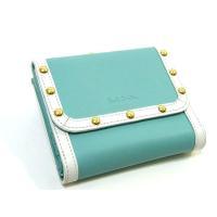 Paul Smithポールスミス牛革レザーがま口財布です。 コイン入れ×2、カード入れ×8、札入れ×...