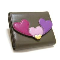 Paul Smithポールスミス牛革レザー折りたたみ財布です。 コイン入れ×2、カード入れ×12、札...