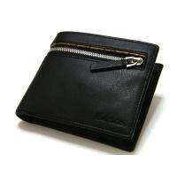 Paul Smithポールスミス、高級レザー2つ折り財布です。 定番マルチストライプが装飾された人気...