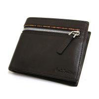 ポールスミス Paul Smith 財布 2つ折り 牛革 レザー 正規品    小銭入れ×2、カード...
