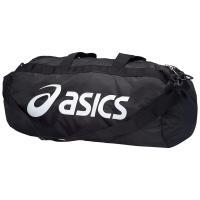[アシックス] asics スポーツバッグ コンパクトドラム EBG443 9001 (ブラック/ホワイト) (現行モデル)