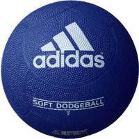 adidas(アディダス) ドッジボール ソフトドッジボール AD210B 紺×青 2号