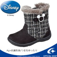 ディズニー ミッキーマウス [セール] 子供靴 キッズブーツ DN C1222 ブラック ムーンスター MOONSTAR disney_y