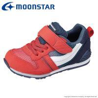 ムーンスター [セール] 子供靴 キッズスニーカー MS C2121G レッド moonstar 抗菌