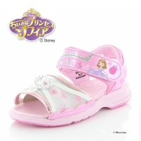 ディズニー [セール] キャラクター 子供靴 キッズサンダル 女子 DN C1252 ピンク kidsalesummer 抗菌