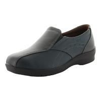 足になじみやすい柔らかな素材を使用したアッパーに幅広ワイド4E設計!靴底はガラス繊維配合の「ざらピタ...