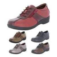 足になじみやすい柔らかな素材を使用したアッパーに幅広ワイド4E設計!靴底はガラス繊維配合の≪ざらピタ...