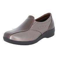 足になじみやすい柔らかな素材を使用したアッパーに幅広ワイド4E設計! 靴底はガラス繊維配合の≪ざらピ...