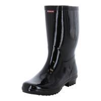 レインシューズ ムーンスター 長靴 メンズ 作業用 ベスターL30 黒 紳士用 ロングタイプレインブーツ moonstar 梅雨