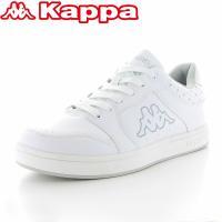 【セール】 「Kappa」(カッパ)のクラシックバスケットテイストのローカットコートシューズ。ユニセ...