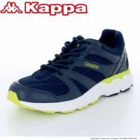 イタリア発祥のスポーツブランド『Kappa』の軽さとクッション性を備えたランニングモデル。3Eワイド...