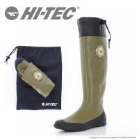 ハイテック [セール] HI-TEC 梅雨 靴HI-TEC メンズ/レディース レインブーツ HT BTU08 KAGEROW カーキ 携帯 長靴 レインシューズ 梅雨