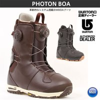 BURTON PHOTON BOA バートン フォトンボア Black-Gum/Brown 16-1...